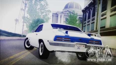 Pontiac Firebird Trans Am Coupe (2337) 1969 für GTA San Andreas linke Ansicht