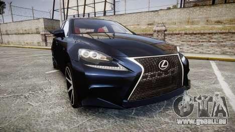 Lexus IS 350 F-Sport 2014 Rims2 pour GTA 4