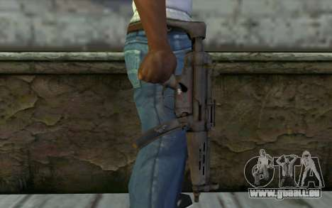 MP5 from FarCry 3 für GTA San Andreas dritten Screenshot