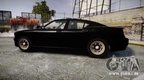 GTA V Bravado Buffalo Unmarked [ELS] Slicktop für GTA 4 linke Ansicht