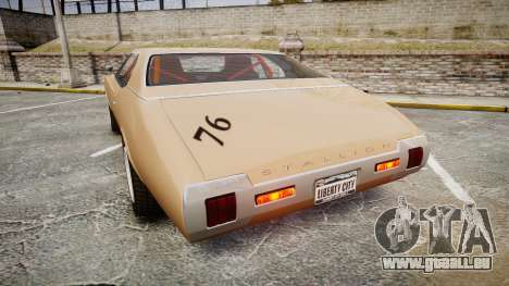 Classique Stallion 2Gen pour GTA 4 Vue arrière de la gauche