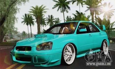 Subaru Impreza RC für GTA San Andreas