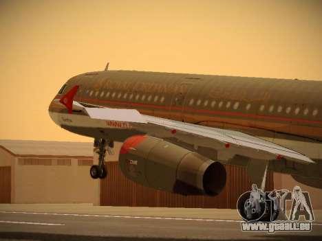 Airbus A321-232 Royal Jordanian Airlines für GTA San Andreas