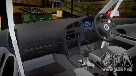 Mitsubishi Lancer Evolution VI 2000 Rally für GTA 4 Rückansicht