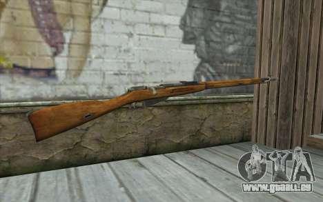 Die Gewehre Mosin-v5 für GTA San Andreas zweiten Screenshot