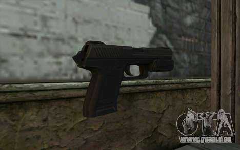 Pistol from Deadpool pour GTA San Andreas deuxième écran