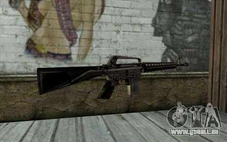 M16 from Beta Version für GTA San Andreas zweiten Screenshot