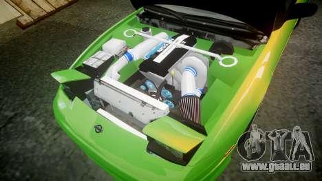 Nissan 240SX S13 Tuned für GTA 4 Seitenansicht