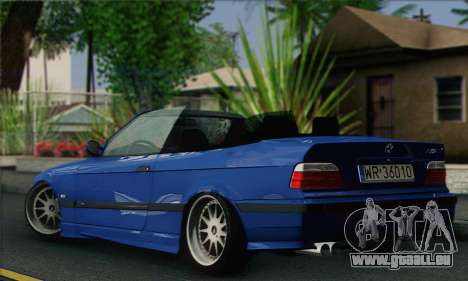 BMW M3 E36 Cabrio für GTA San Andreas linke Ansicht