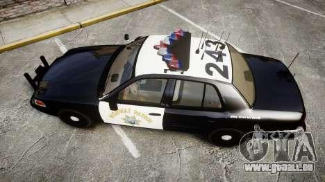 Ford Crown Victoria CHP CVPI Vision [ELS] für GTA 4 rechte Ansicht