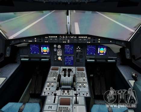 Airbus A340-600 EgyptAir für GTA San Andreas Innen