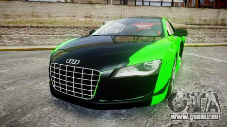 Audi R8 GT Coupe 2011 Yoshino pour GTA 4