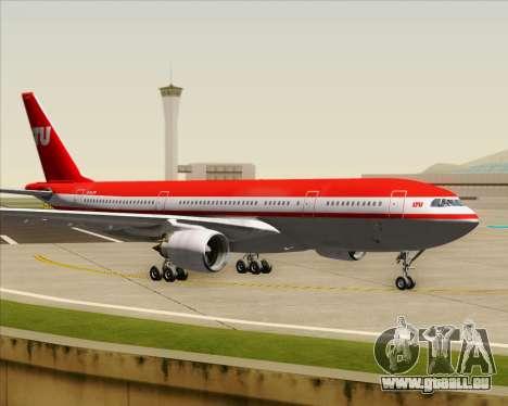 Airbus A330-200 LTU International für GTA San Andreas Innenansicht