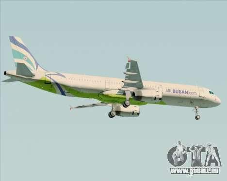 Airbus A321-200 Air Busan pour GTA San Andreas vue de droite
