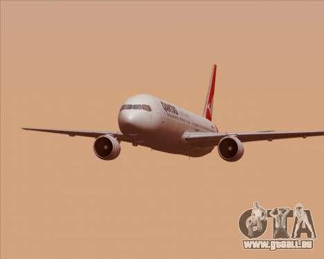 Boeing 767-300ER Qantas (New Colors) für GTA San Andreas Innen