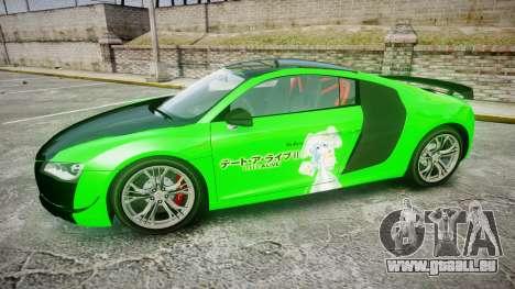 Audi R8 GT Coupe 2011 Yoshino pour GTA 4 est une gauche
