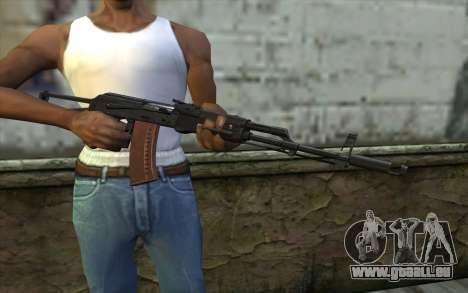 AKS-74 für GTA San Andreas dritten Screenshot