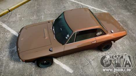 Lancia Fulvia HF (Camber) pour GTA 4 est un droit