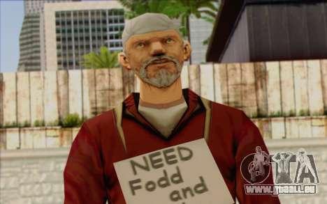 Squad Mitglied AI Haut 1 für GTA San Andreas dritten Screenshot