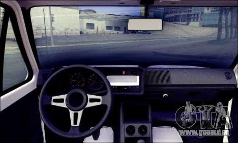 Volkswagen Golf Mk1 für GTA San Andreas zurück linke Ansicht