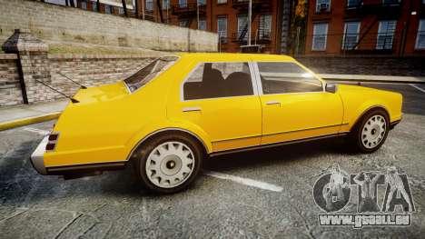Albany Romans Taxi pour GTA 4 est une gauche