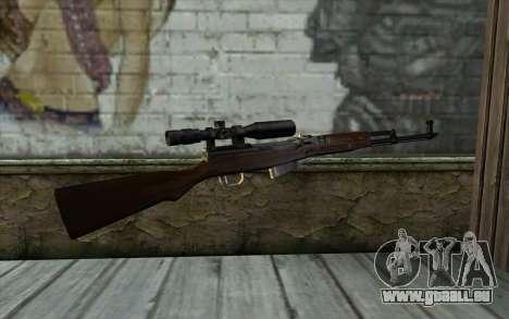 SCS avec un viseur Optique pour GTA San Andreas deuxième écran