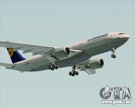 Airbus A330-200 Lufthansa für GTA San Andreas Räder
