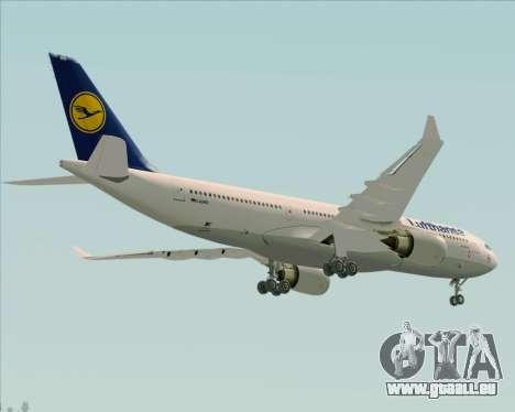 Airbus A330-200 Lufthansa pour GTA San Andreas vue de côté