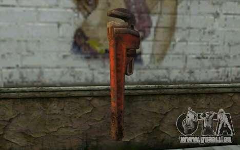 Schraubenschlüssel (DayZ Standalone) für GTA San Andreas zweiten Screenshot