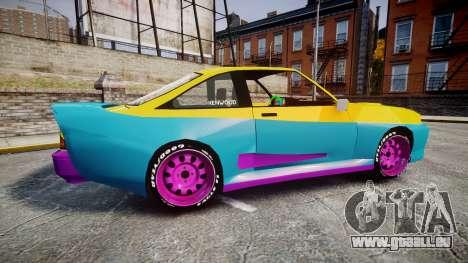 Opel Manta B GTE für GTA 4 linke Ansicht