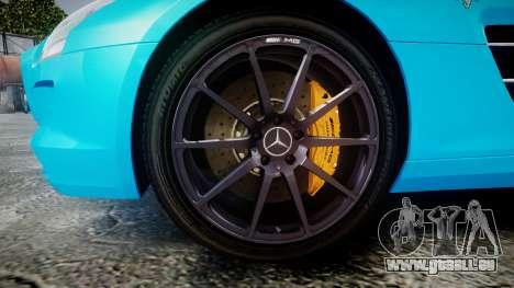 Mercedes-Benz SLS AMG v3.0 [EPM] Kotori Minami pour GTA 4 Vue arrière