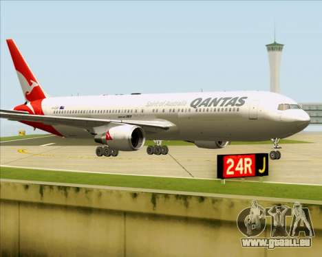 Boeing 767-300ER Qantas (New Colors) für GTA San Andreas linke Ansicht