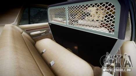 Ford LTD Crown Victoria 1987 Police CHP2 [ELS] pour GTA 4 est un côté