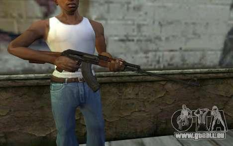 RPK 74 from Battlefield 4 pour GTA San Andreas troisième écran