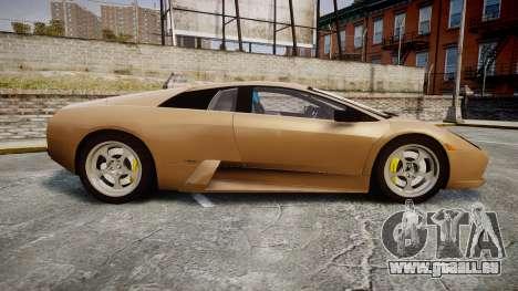 Lamborghini Murcielago 2005 pour GTA 4 est une gauche