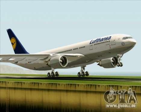 Airbus A330-200 Lufthansa für GTA San Andreas Innen