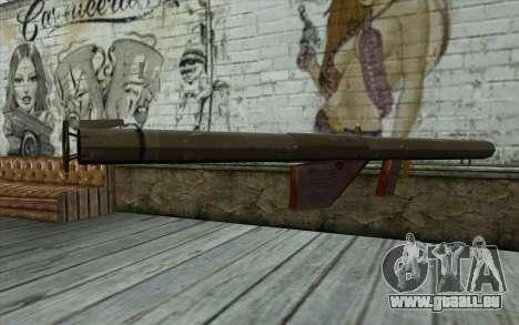 M1 Bazooka aus Day of Defeat für GTA San Andreas