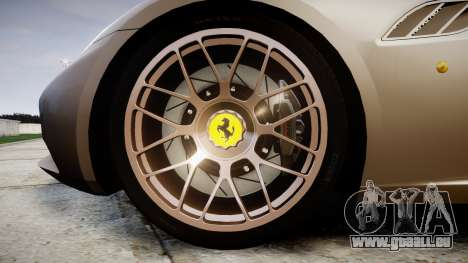 Ferrari California [EPM] pour GTA 4 Vue arrière