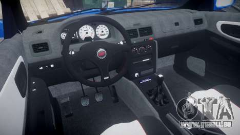 Subaru Impreza WRC 1998 World Rally pour GTA 4 Vue arrière