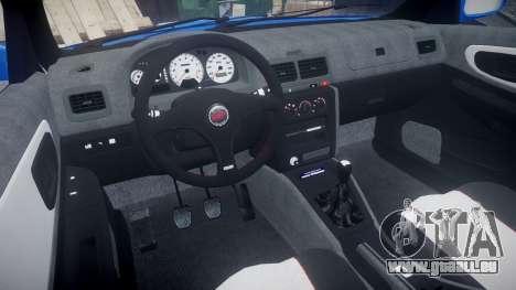 Subaru Impreza WRC 1998 SA Competio pour GTA 4 Vue arrière