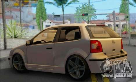 Volkswagen Polo pour GTA San Andreas laissé vue