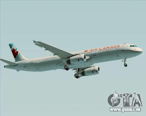 Airbus A321-200 Air Canada pour GTA San Andreas moteur