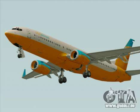 Boeing 737-800 Orbit Airlines für GTA San Andreas Motor