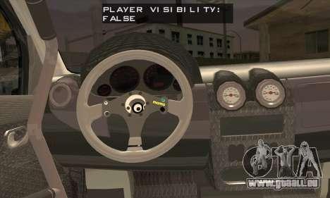 Dacia Logan Trophy Edition 2005 pour GTA San Andreas sur la vue arrière gauche