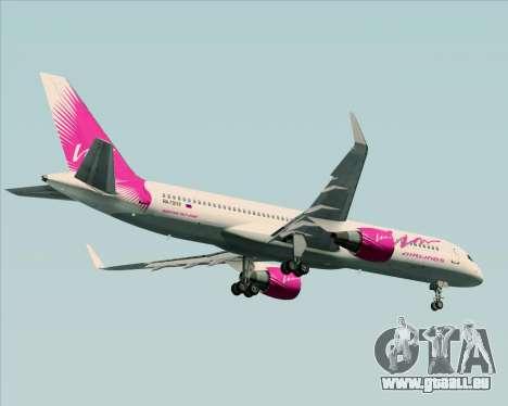 Boeing 757-230 VIM Airlines (VIM) für GTA San Andreas Innenansicht