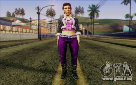 Shaundi from Saints Row The Third pour GTA San Andreas