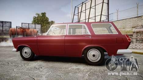 FSO Warszawa Ghia Kombi 1959 pour GTA 4 est une gauche