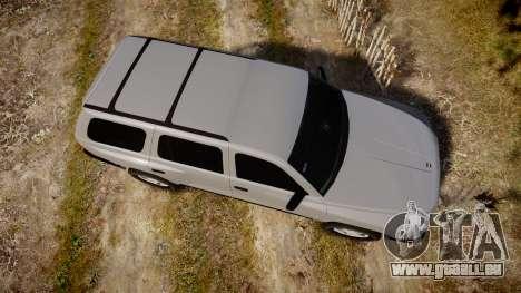 Dodge Durango 2000 Undercover [ELS] pour GTA 4 est un droit