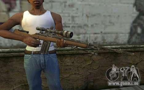 M21 from Battlefield: Vietnam pour GTA San Andreas troisième écran