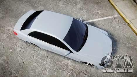 Mercedes-Benz E63 W213 AMG 2014 Vossen pour GTA 4 est un droit
